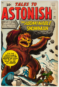 Tales to Astonish #24 (Marvel, 1961) Condition: FN