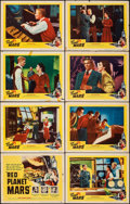 """Movie Posters:Science Fiction, Red Planet Mars & Other (United Artists, 1952). Overall: Fine/Very Fine. Lobby Card Sets of 8 (2 Sets) (11"""" X 14""""). S..."""