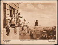 """Our Gang in Seein' Things (Pathe, 1924). Fine+. Lobby Card (11"""" X 14""""). Comedy"""