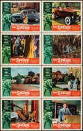 """Movie Posters:Horror, The Spider (American International, 1958). Very Fine. Lobby Card Set of 8 (11"""" X 14""""). Horror.. ... (Total: 8 Items)"""