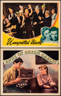 """Anne of Green Gables & Other Lot (RKO, 1934). Very Fine. Lobby Cards (2) (11"""" X 14""""). Drama. ... (Total: 2..."""