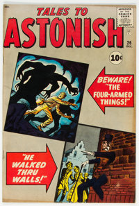 Tales to Astonish #26 (Marvel, 1961) Condition: FN-