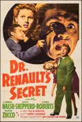 "Movie Posters:Horror, Dr. Renault's Secret & Other Lot (20th Century Fox, 1942). Folded, Fine/Very Fine. One Sheet (27"" X 41"") & Photos (11) (8"" X... (Total: 12 Items)"