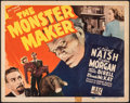 "Movie Posters:Horror, The Monster Maker (PRC, 1944). Fine/Very Fine. Title Lobby Card (11"" X 14""). Horror.. ..."
