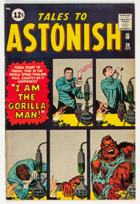 Tales to Astonish #28 (Marvel, 1962) Condition: FN+
