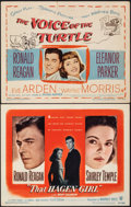"Movie Posters:Drama, That Hagen Girl & Other Lot (Warner Bros., 1947). Very Fine-. Title Lobby Cards (2) (11"" X 14""). Drama.. ... (Total: 2 Items)"