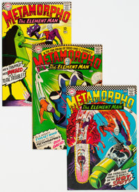 Metamorpho Group of 6 (DC, 1966-67) Condition: Average VF+.... (Total: 6 Comic Books)