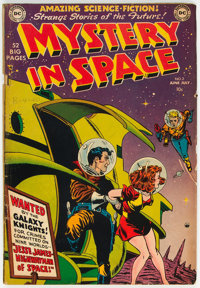 Mystery in Space #2 (DC, 1951) Condition: VG