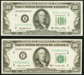 Fr. 2158-B $100 1950A Federal Reserve Note. Choice AU; Fr. 2160-F $100 1950C Federal Reserve Note. Choice CU. ... (Total...