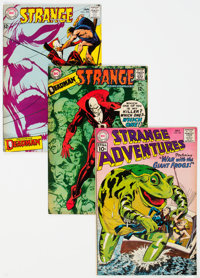 Strange Adventures Group of 7 (DC, 1961-68).... (Total: 7 Comic Books)