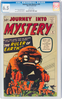 Journey Into Mystery #81 (Marvel, 1962) CGC FN+ 6.5 White pages