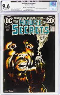 House of Secrets #103 Murphy Anderson File Copy (DC, 1972) CGC NM+ 9.6 White pages