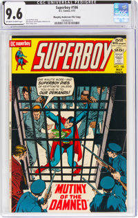 Superboy #186 Murphy Anderson File Copy (DC, 1972) CGC NM+ 9.6 Off-white to white pages