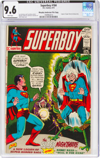 Superboy #184 Murphy Anderson File Copy (DC, 1972) CGC NM+ 9.6 White pages