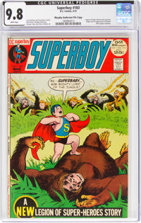 Superboy #183 Murphy Anderson File Copy (DC, 1972) CGC NM/MT 9.8 White pages
