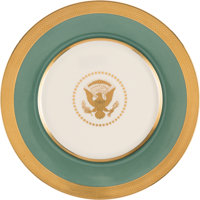 Harry S Truman: White House China Dinner Plate