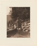 Photography:Studio Portraits, Edward S. Curtis: Canoes and Fishing Photogravures.... (Total: 4 Items)