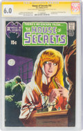 Bronze Age (1970-1979):Horror, House of Secrets #92 Signature Series: Bernie Wrightson (DC, 1971) CGC FN 6.0 White pages....