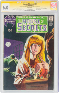 House of Secrets #92 Signature Series: Bernie Wrightson (DC, 1971) CGC FN 6.0 White pages