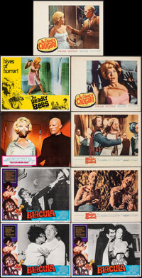 """Blacula & Other Lot (American International, 1972). Overall: Very Fine-. Lobby Cards (9) (11"""" X 14"""") &..."""