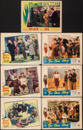 """Movie Posters:Comedy, Young and Willing & Other Lot (United Artists, 1943). Fine/Very Fine. Lobby Cards (7) (11"""" X 14""""). Comedy.. ... (To..."""