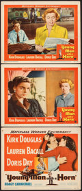 """Movie Posters:Drama, Young Man with a Horn (Warner Bros., 1950). Fine/Very Fine. Title Lobby Card & Lobby Cards (2) (11"""" X 14""""). Drama.. ... (Total: 3 Items)"""