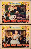 "Movie Posters:Musical, Red Hot Rhythm (Pathé, 1929). Fine. Lobby Cards (2) (11"" X 14""). Musical.. ... (Total: 2 Items)"