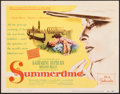 """Movie Posters:Romance, Summertime (United Artists, 1955). Very Fine. Title Lobby Card (11"""" X 14""""). Romance.. ..."""
