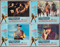 """Movie Posters:Western, Two Mules for Sister Sara (Universal, 1970). Fine/Very Fine. Lobby Cards (4) (11"""" X 14""""). Western.. ... (Total: 4 Items)"""
