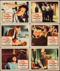 """Movie Posters:Horror, The Tingler (Columbia, 1959). Very Fine-. Lobby Cards (6) (11"""" X 14""""). Horror.. ... (Total: 6 Items)"""