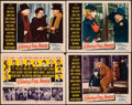 """Movie Posters:Drama, O. Henry's Full House (20th Century Fox, 1952). Overall: Very Fine-. Title Lobby Card & Lobby Cards (3) (11"""" X 14""""). ..."""
