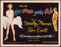 """Movie Posters:Comedy, The Seven Year Itch (20th Century Fox, 1955). Fine/Very Fine. Title Lobby Card (11"""" X 14""""). Comedy.. ..."""