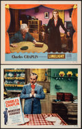 """Movie Posters:Drama, Monsieur Verdoux & Other Lot (United Artists, 1947). Overall: Very Fine. Lobby Cards (2) (11"""" X 14""""). Drama.. ... (..."""