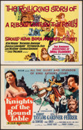 """Movie Posters:Adventure, Knights of the Round Table & Other Lot (MGM, R-1962). Folded, Overall: Very Fine-. Half Sheets (15) (22"""" X 28""""). Adventure.... (Total: 15 Items)"""