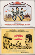 "Movie Posters:Western, The Undefeated & Other Lot (20th Century Fox, 1969). Rolled & Folded, Overall: Fine/Very Fine. Half Sheets (15) (22"" X 28"").... (Total: 15 Items)"