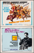 "Movie Posters:Crime, Machine Gun McCain & Other Lot (Columbia, 1970). Overall: Fine/Very Fine. Half Sheets (15) (22"" X 28""). Crime.. ... (Total: 15 Items)"