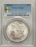 1885-O $1 MS66+ PCGS. PCGS Population: (2852/358 and 310/53+). NGC Census: (4717/586 and 137/27+). CDN: $190 Whsle. Bid...