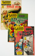 Golden Age (1938-1955):Classics Illustrated, Classics Illustrated-Related Group of 68 (Gilberton, 1940s-60s) Condition: Average GD.... (Total: 68 Comic Books)