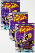 Modern Age (1980-Present):Superhero, The New Mutants #1 Group of 15 (Marvel, 1983) Condition: Average NM-.... (Total: 15 Comic Books)