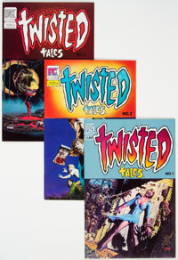 Twisted Tales Half Short Box Group (Pacific Comics, 1982-84) Condition: Average NM-