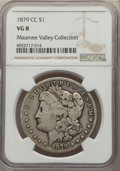 1879-CC $1 VG8 NGC. EX: Maumee Valley Collection. NGC Census: (136/2553). PCGS Population: (200/5139). CDN: $140 Whsle...