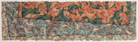 Cath Murphy (American, 20th century) Untitled, 1983 Colored pencil on paper 21 x 72 inches (53.3
