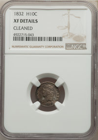 1832 H10C -- Cleaned -- NGC Details. XF. Mintage 965,000. ...(PCGS# 4279)