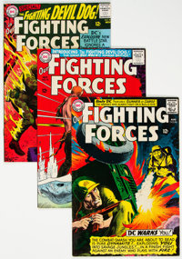 Our Fighting Forces #72 and 93-107 Group (DC, 1962-67) Condition: Average FN+.... (Total: 16 Comic Books)