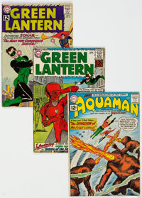 Aquaman/Green Lantern Group of 4 (DC, 1962) Condition: Average GD/VG.... (Total: 4 Comic Books)