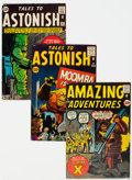 Silver Age (1956-1969):Science Fiction, Marvel Silver Age Pre-Superhero Comics Group of 4 (Marvel, 1961-62) Condition: Average VG.... (Total: 4 Comic Books)