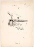 Original Comic Art:Illustrations, George Herriman archy and mehitabel Illustration Original Art (Doubleday, 1927). ...