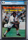 Miscellaneous Collectibles:General, 1975 Pele Sports Illustrated - CGC 8.5, Pop One with None Higher!...