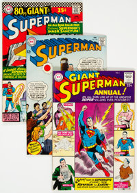 Superman Group of 6 (DC, 1961-68) Condition: Average VF.... (Total: 6 )