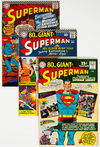 Superman Group of 4 (DC, 1966-67) Condition: Average VF+.... (Total: 4 )